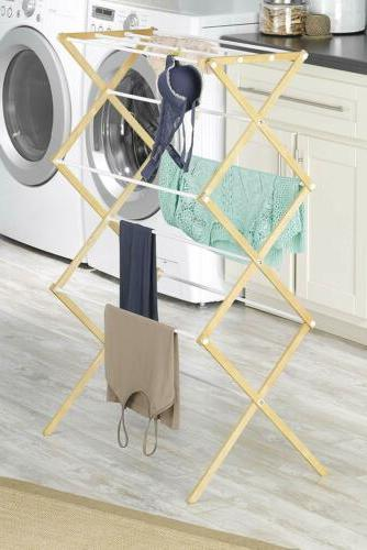 Clothes Drying Rack Wood Dryer