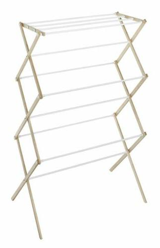 clothes drying rack laundry wood hanger indoor