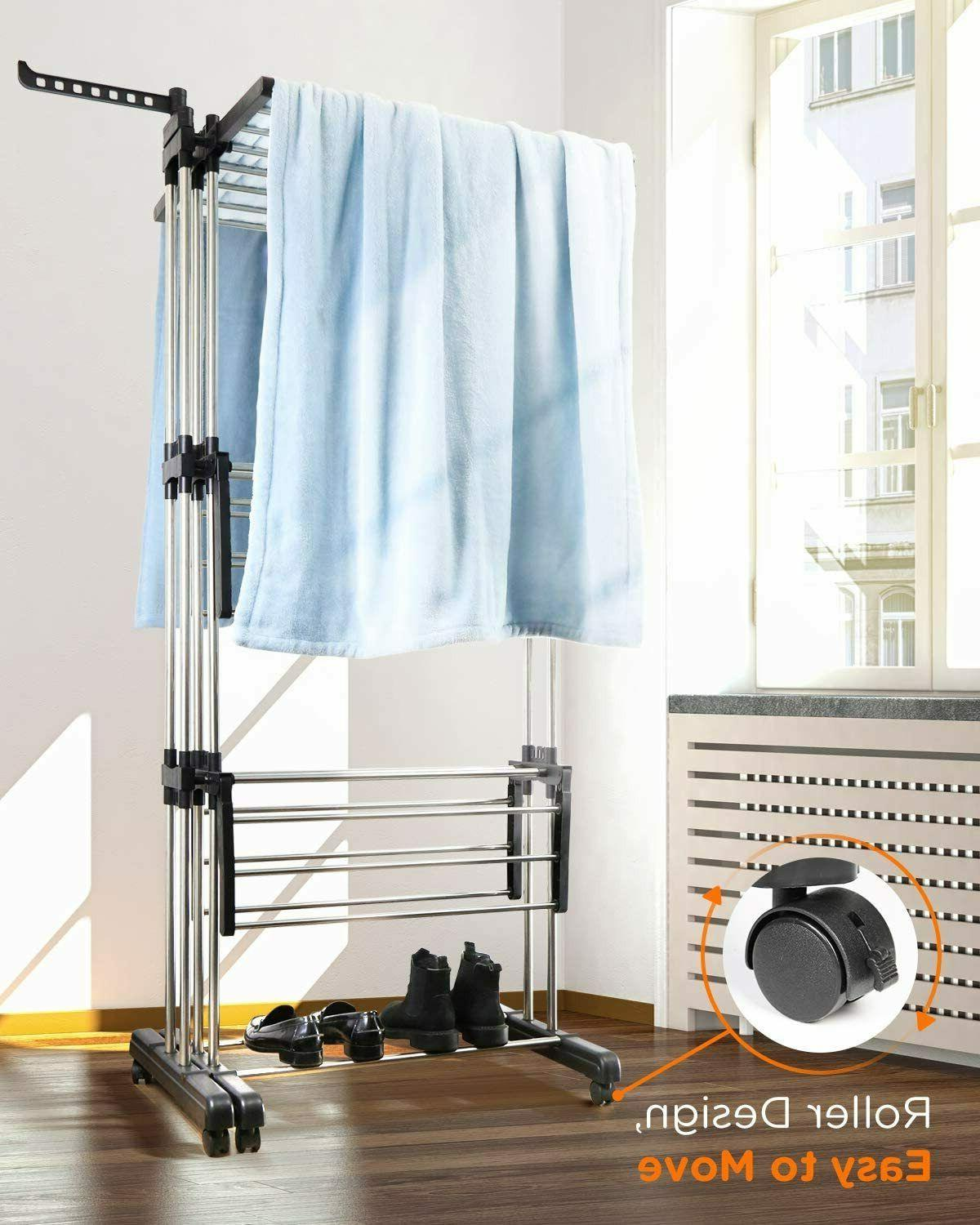 Tomons Clothes Drying Tower, Clothes Dryer Stainless Steel