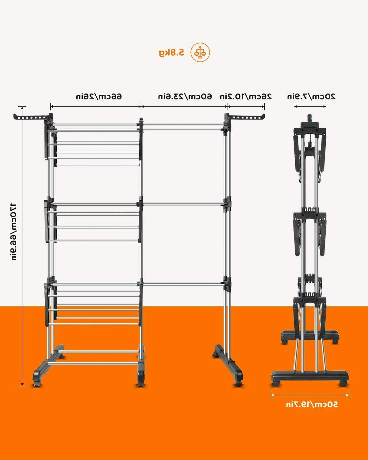 Tomons Clothes Tower, Clothes Stainless Steel