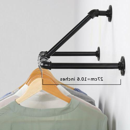 Clothes Rack Hanger Laundry Wall Triangular Stable
