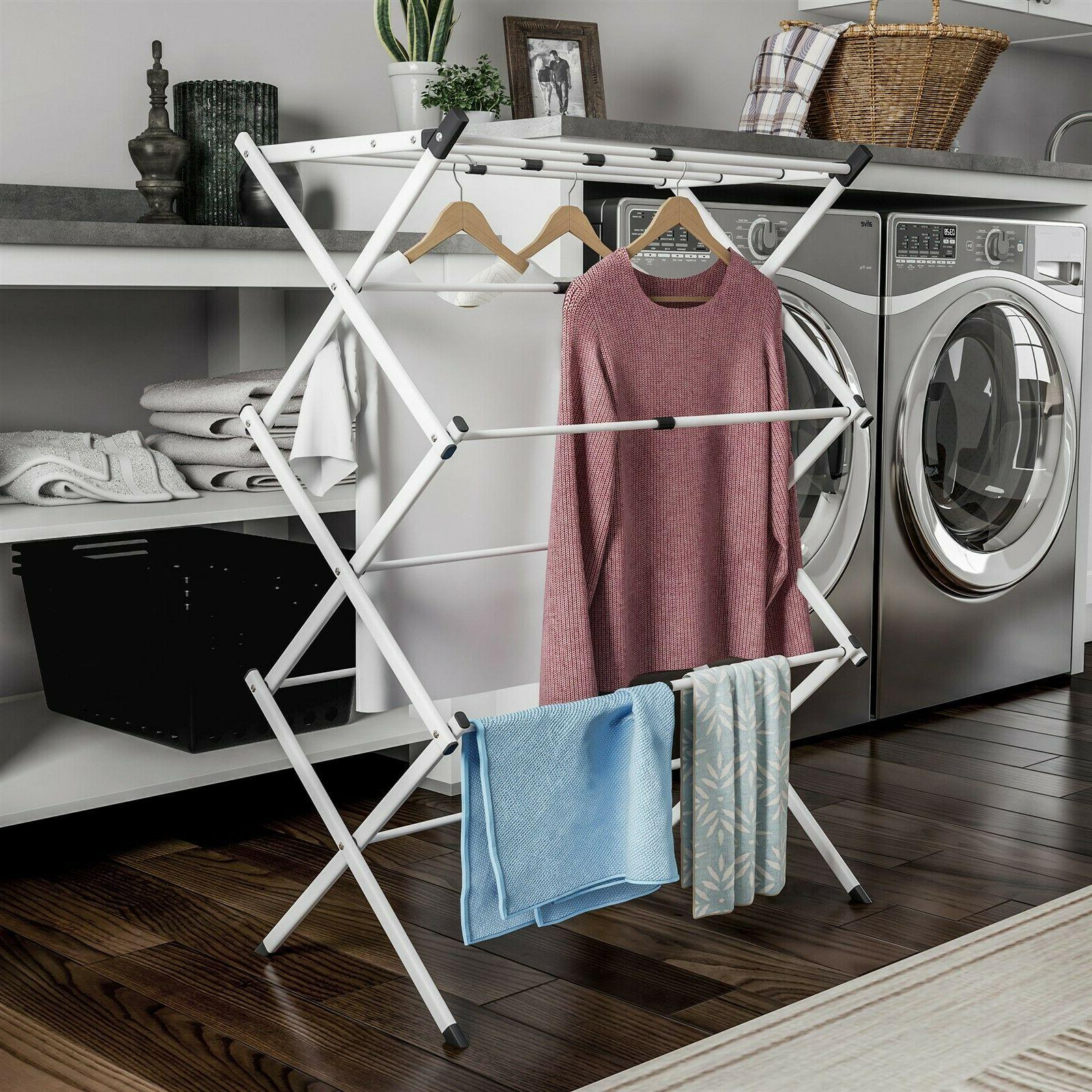 Collapsible Line Air Drying Laundry Hang Delicates