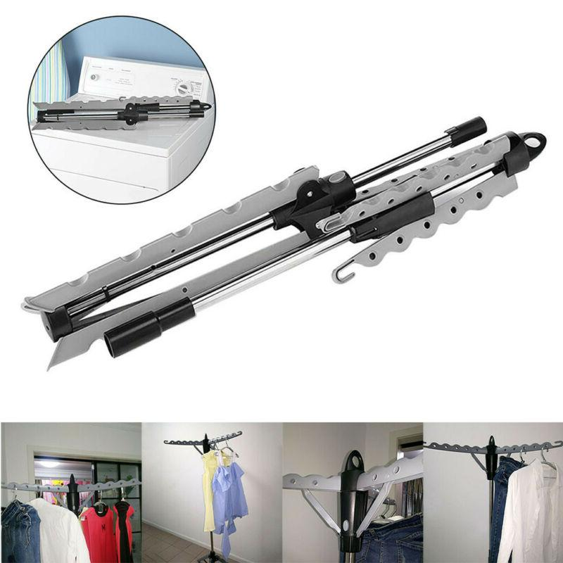 Collapsible Portable Indoor Tripod Clothes Drying Rack For H
