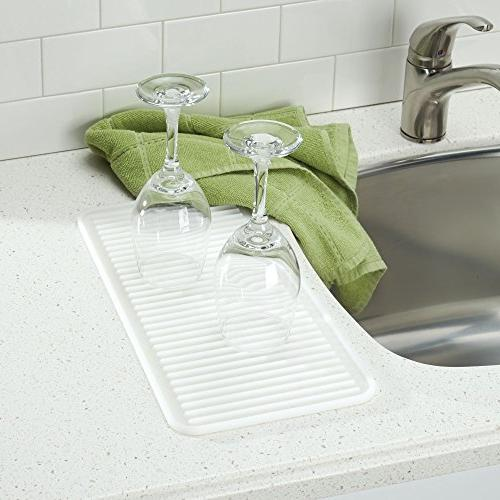 Sink and Silicone - Wine Dishes - Set 2, Satin Heat-Safe Mat