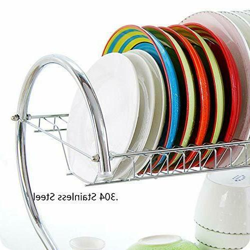 Dish Drainer Drying Rack Kitchen Made Durable