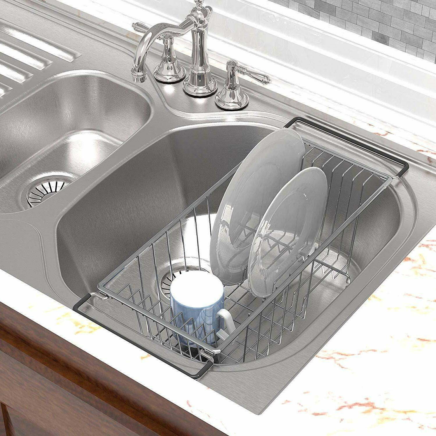 In Sink Dish Drying Rack Drainer Over The Sink For Small Spa