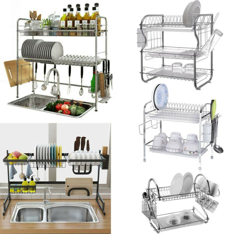dish drainer rack over sink holder drying