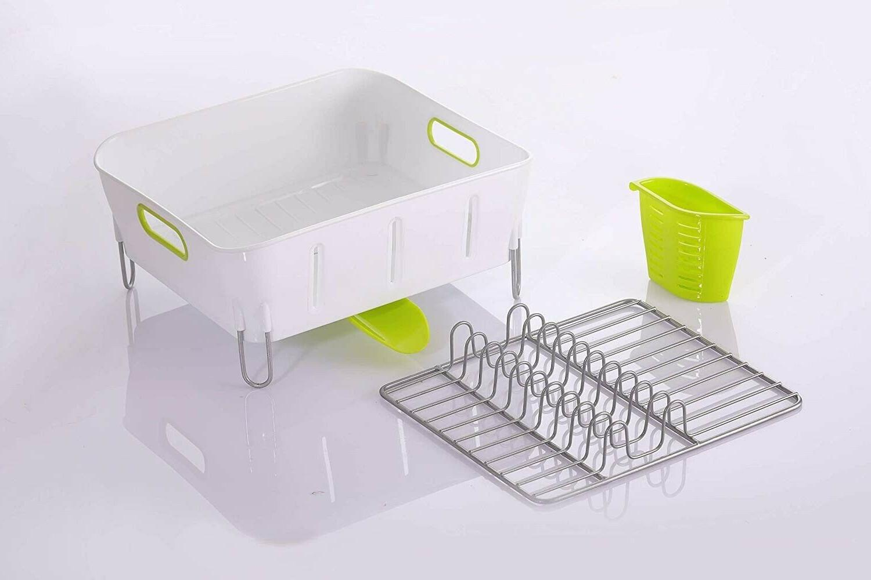 Dish rack and drainboard Swivel