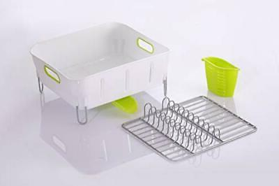 Dish drying drainboard set with Swivel Spout Stainless