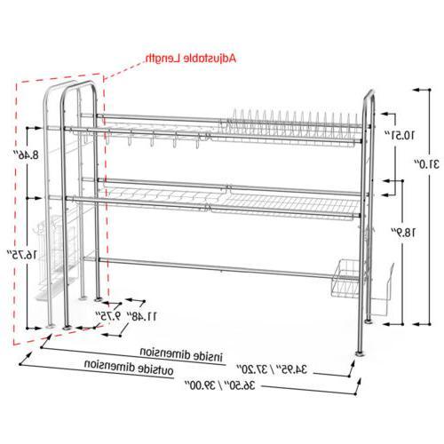 Dish Rack Shelf
