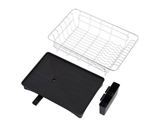 16.5 11 x 6 IN Rack with Small Size DrainBoard Set for Kitchen