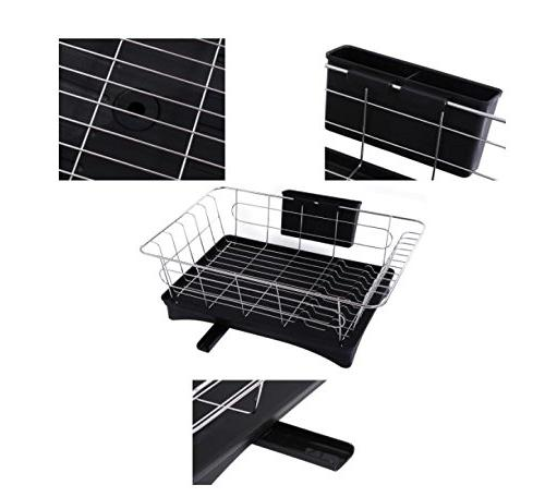 16.5 x 6 Rack with Drain Small Size Set for Kitchen