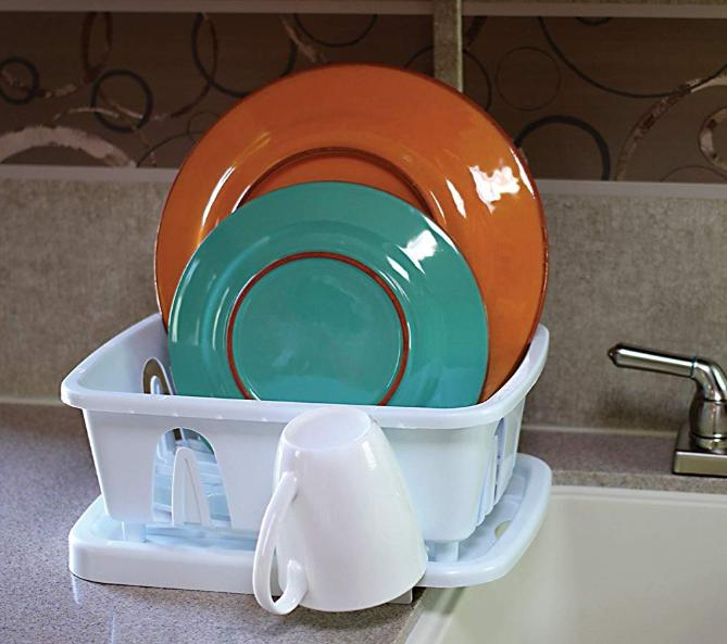 Dish Drainer Holder Plate Tray For RV Small