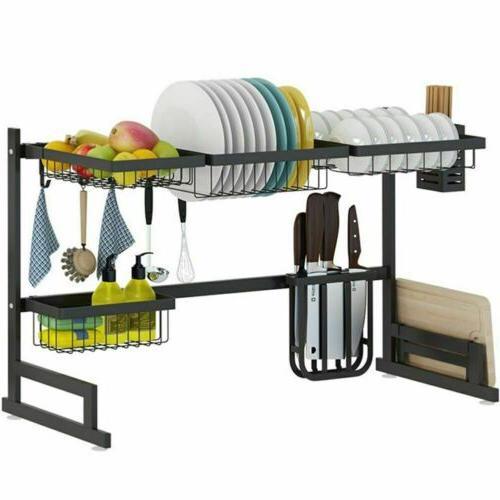Dish Sink Shelf Storage Organization Holder