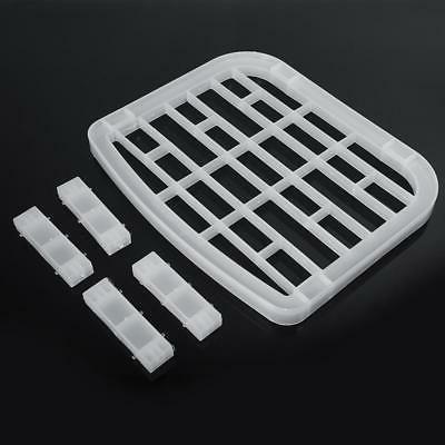 Foldable Dish Rack Drainer Plastic Storage Holder