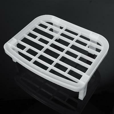 Foldable Dish Plate Rack Organizer Drainer Plastic Storage