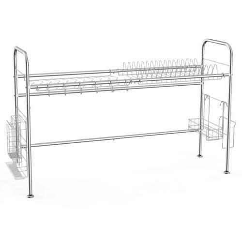 Stainless steel Rack Over Shelf Cutlery Organizer