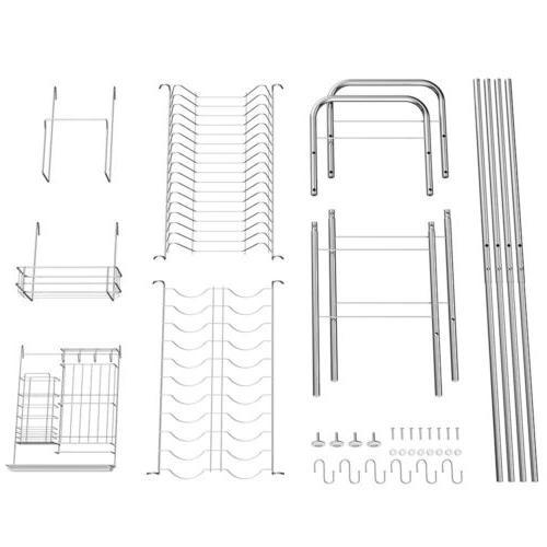 NEX 1-Tier Rack Stainless Steel Storage