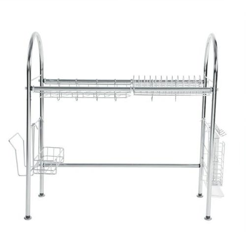 Stainless Dish Shelf Cutlery US