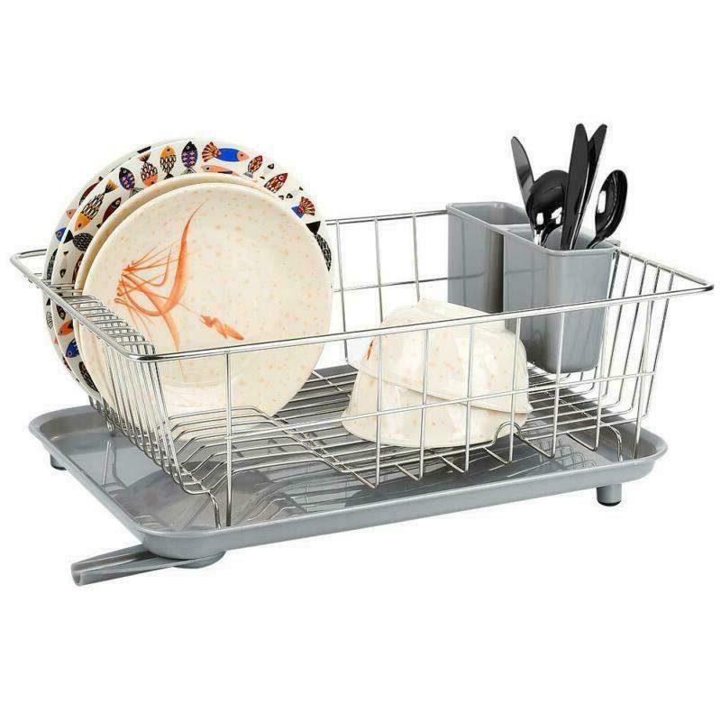 Dish Drying Drain Whitgo Steel Drainer Drying Ra