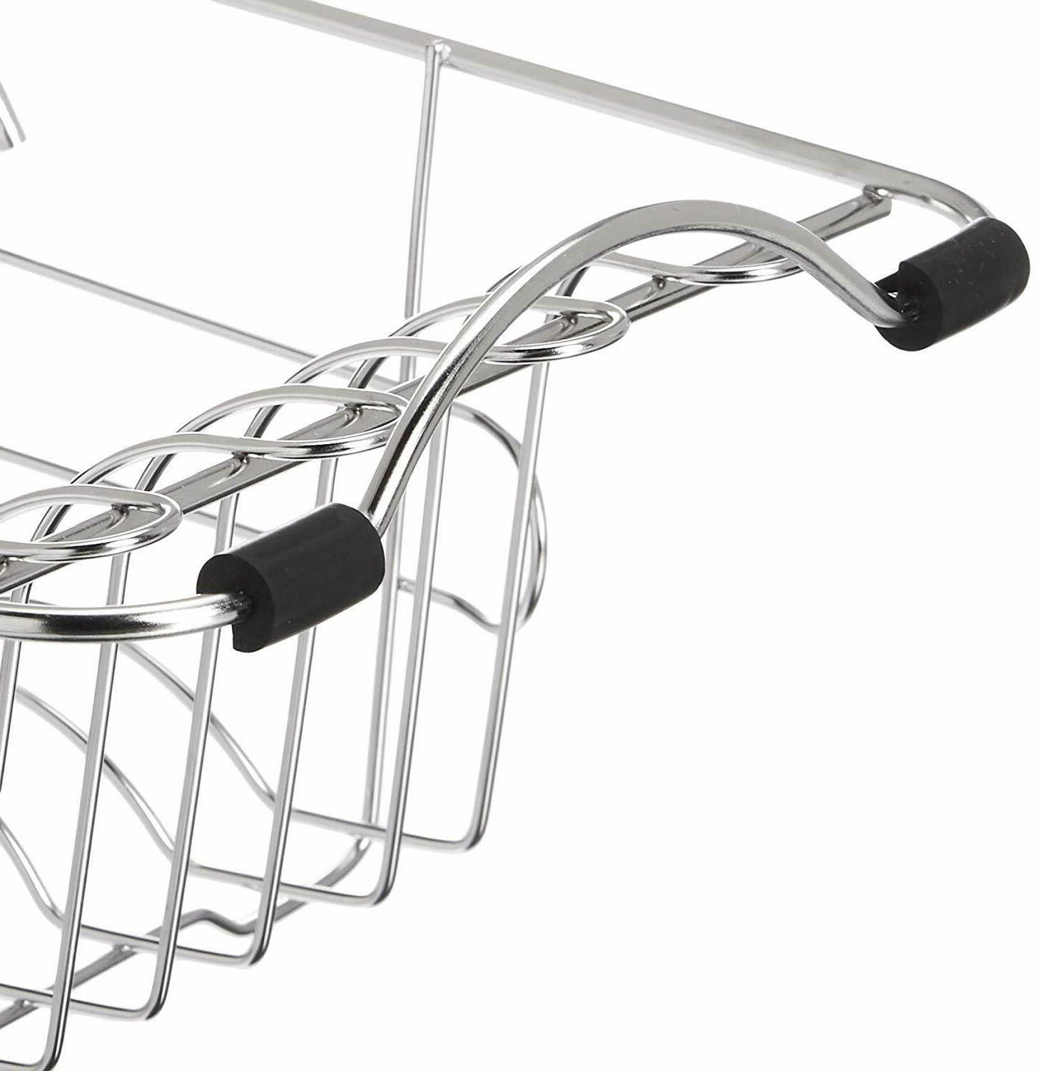 Dish Rack Kitchen Stainless Steel In-Sink Dishes