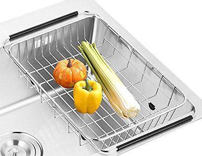 dish rack over sink
