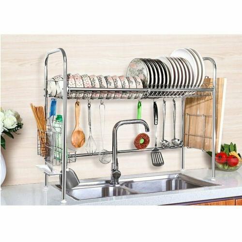 dish rack over sink dish drying rack