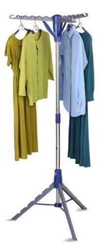 Honey-Can-Do DRY-02118 Tripod Folding Drying Rack, 64-Inch T