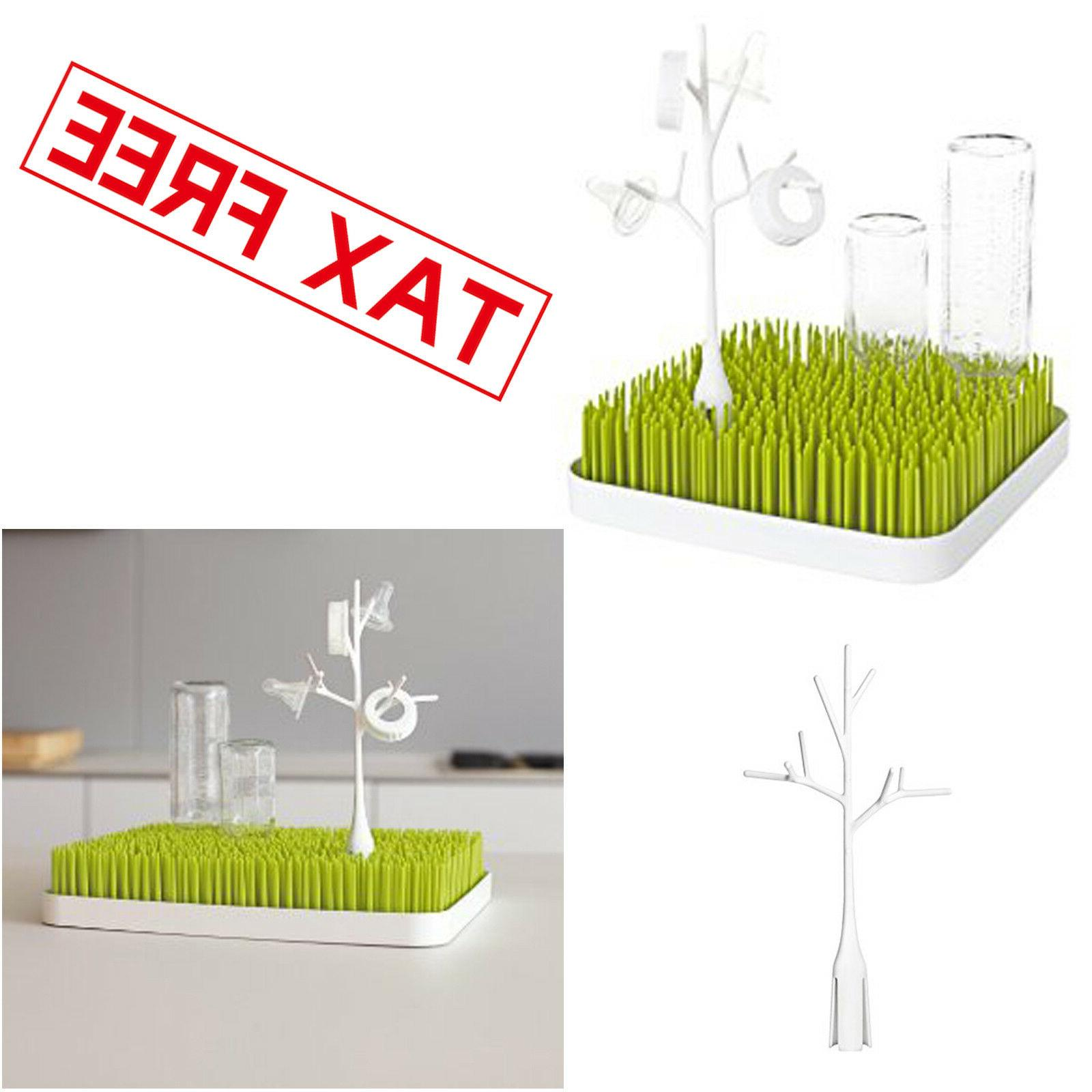 drying rack accessory twig grass lawn white