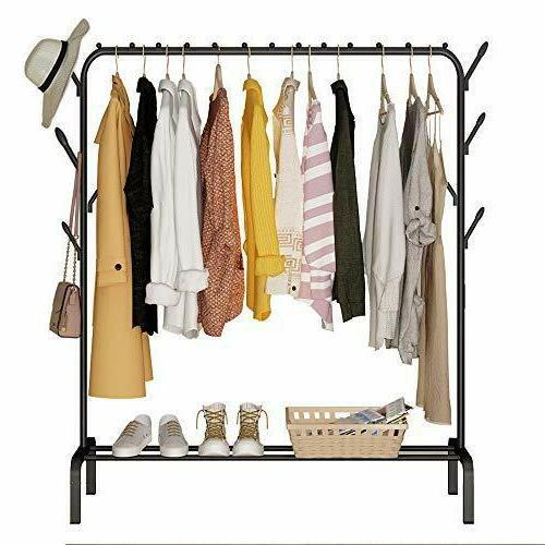 drying rack heavy duty clothes rail metal