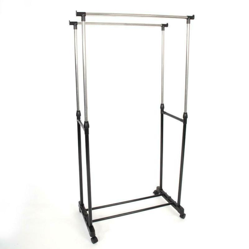 Drying Laundry Folding Clothes Hanger Stand