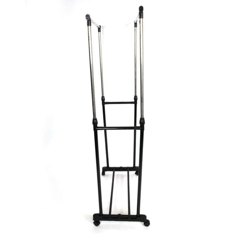 Drying Rack Folding Clothes Hanger Stand