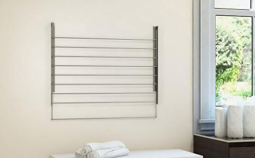 brightmaison of Clothes Drying Steel Mounted Adjustable Drying Capacity