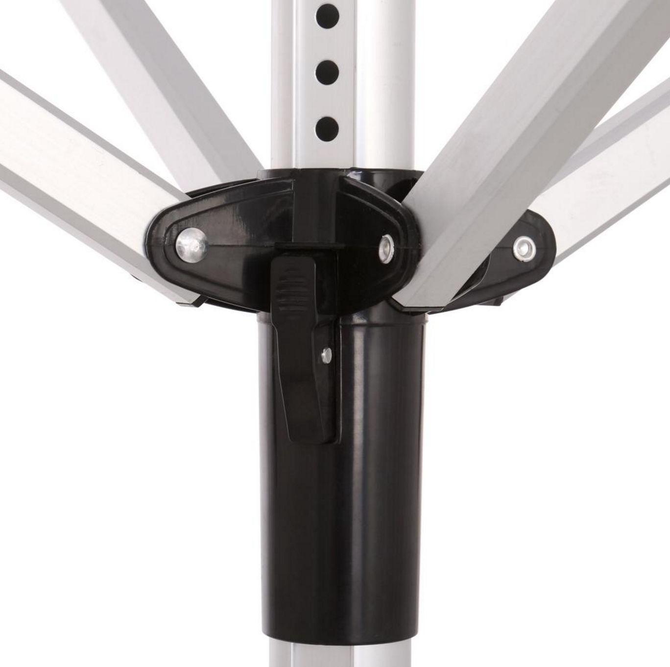 Outdoor Clothes Rack Umbrella Clothesline Adjustable Height Laundry Line