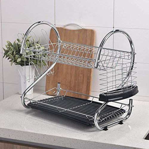 Proof In Two Tier Dish Rack, Dish