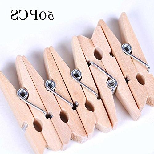 durable sturdy wood clothespins laundry