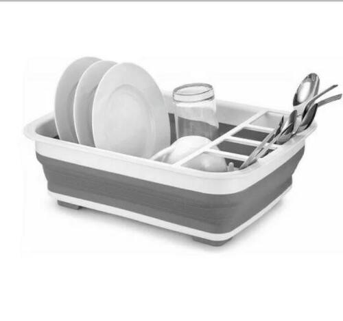 easy storage collapsible dish rack