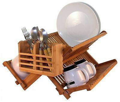 eco dish drying rack utensil holder strong