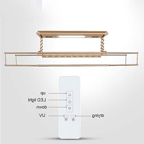 Electric Rack with Drying Fan, Remote