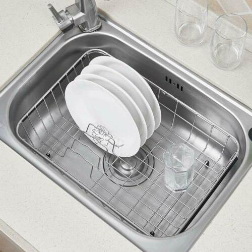 Expandable Dish Drying and Holder, Stainless