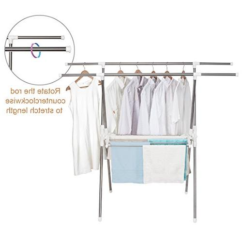 STORAGE Drying Stainless Steel Rack, inch Wide