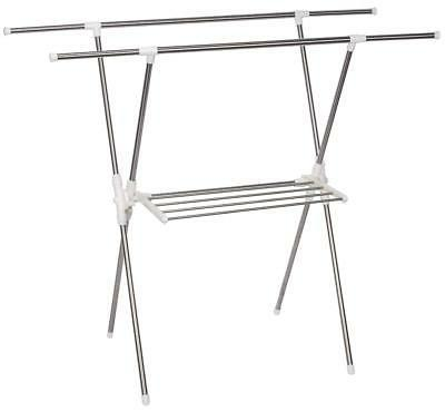 STORAGE Drying Rack Stainless Steel Laundry Garment Rack,