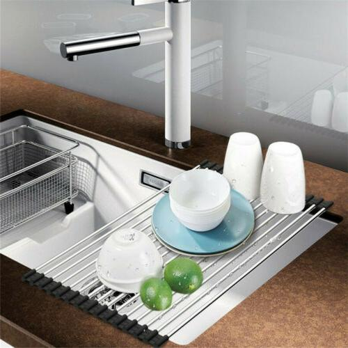 Extra Large Sink Dish Drainer
