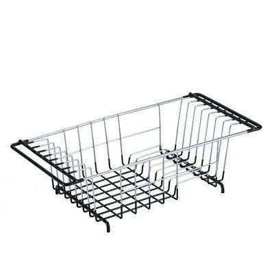 Floor Drain Drying Rack Cup Steel Wash Storage Organizer