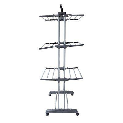 Laundry Clothes Storage Drying Rack Portable Hanger
