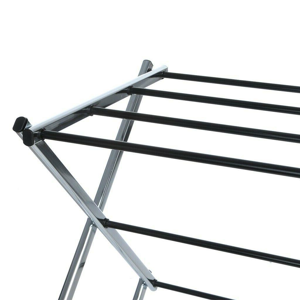 Foldable Clothes Retractable Stainless Rack
