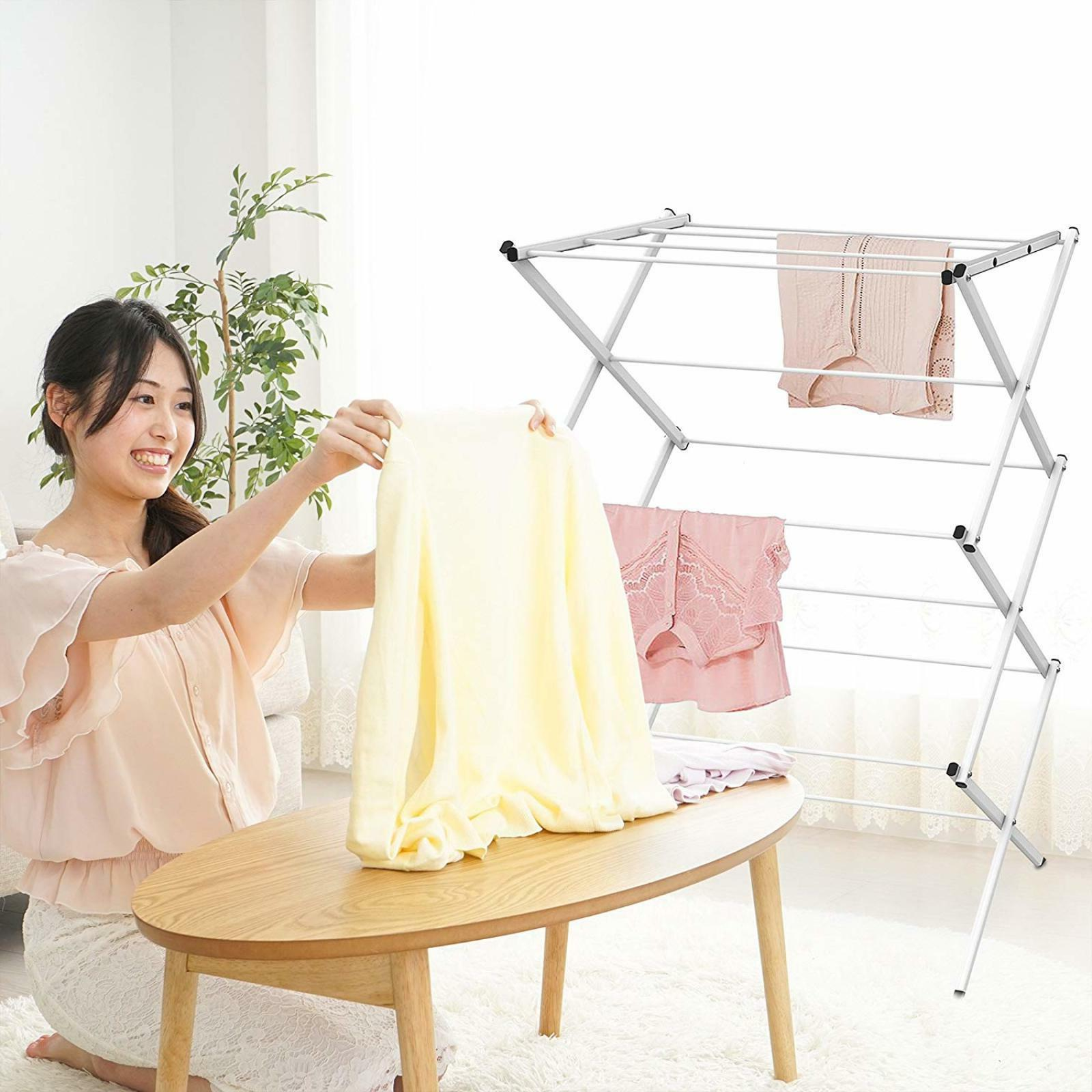 Foldable Storage Dryer Hanger Stand