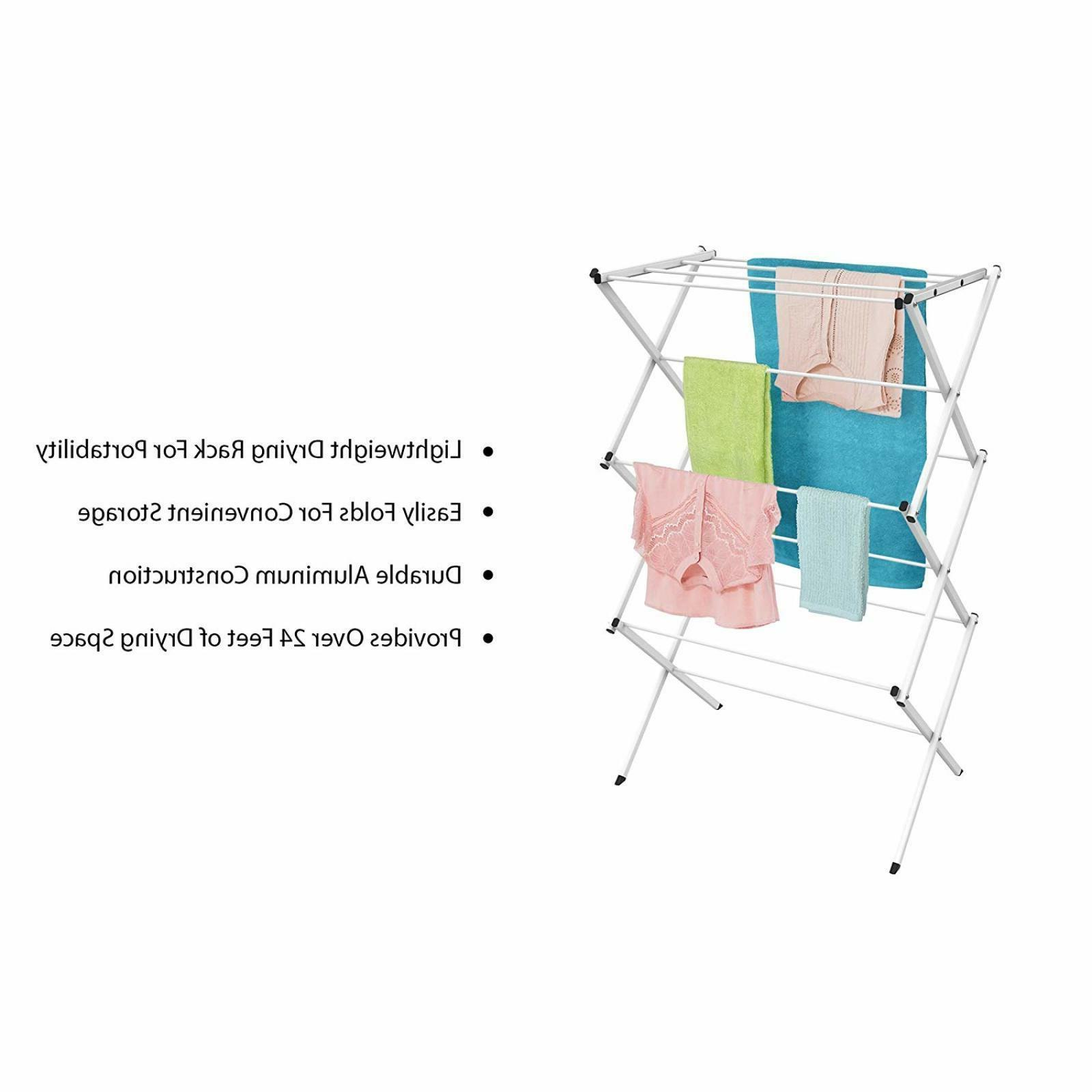 Foldable Portable Storage Rack Dryer Hanger Stand