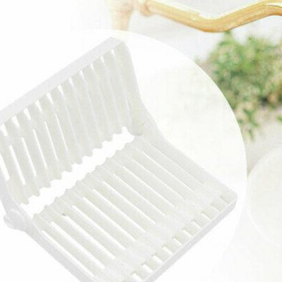 Foldable Dish Drying Rack Holder Drying