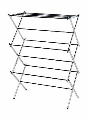 foldable drying rack chrome